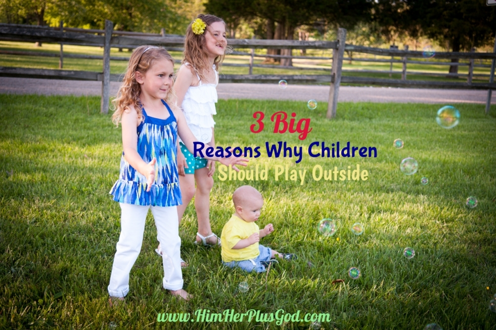 3 Reasons children should play outside