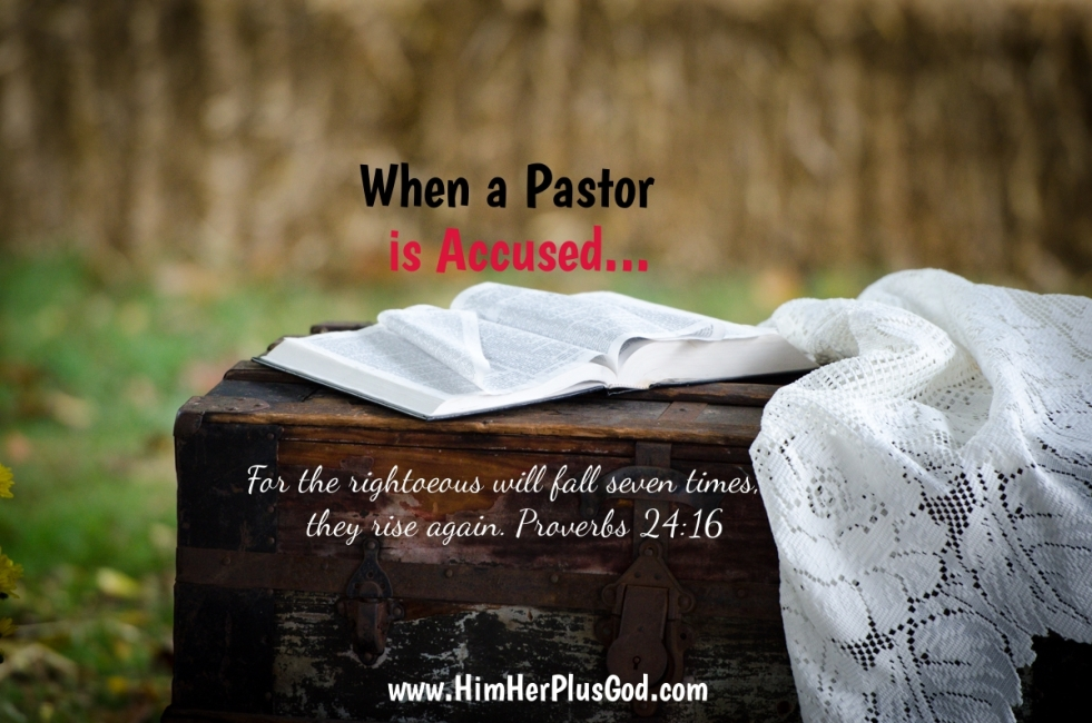 When a pastor is accused